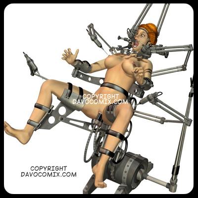 Davo Bondage Art Interrogation - X Table - Torchair